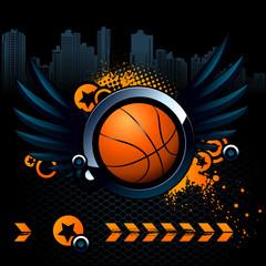 Basketball modern image