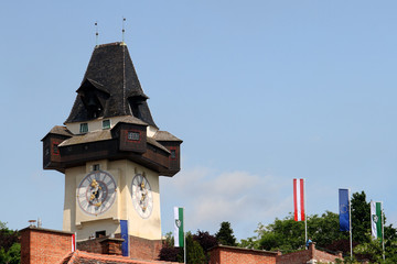 Clocktower of Graz