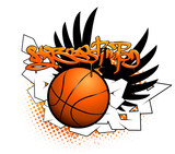 Fototapety Basketball graffiti image