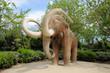 Mammoth statue in Parc de la Ciutadella in Barcelona, Spain