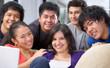 Friendship between multi ethnic teenagers