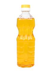 Plastic bottle with vegetable oil