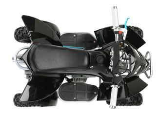 Black quad byke