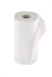 Paper towel with clipping path (see also)