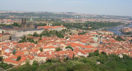 Prague -historic cityscape