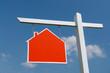 House sale signpost