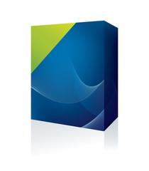 blue software box