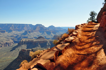 wandern im Grand Canyon