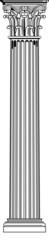 korinthische säule