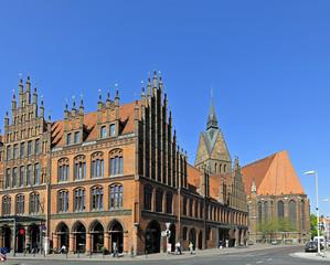 Hannover, Marktkirche, altes Rathaus