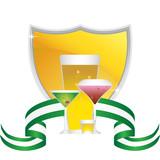 Beverage Icon Set poster