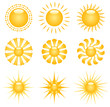 Vector Sun Clip-art