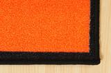 Orange carpet. poster