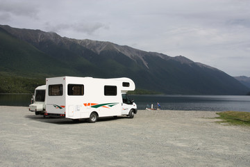 RV in New Zealand - Nelson Lakes