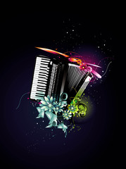 color music vector