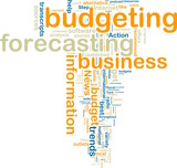 Budgeting wordcloud poster