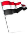 Flag pin - Yemen