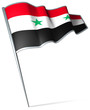 Flag pin - Syria