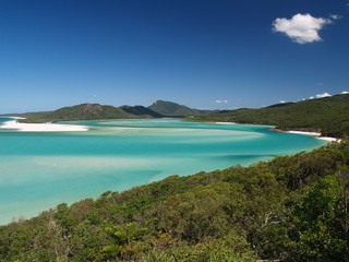 Coast of Whitsunday Island, Great Barrier Reef