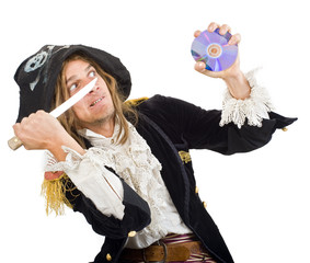 pirate and CD