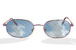 Halftone glasses
