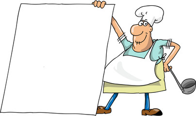 The cook and the menu
