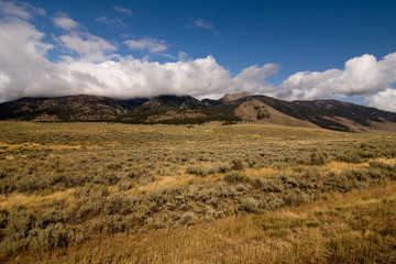 Semi desert and mountains