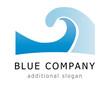 Company Logo 0017 - Blue Company