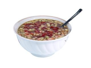 Vegetable soup - Okroshka