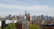Manhattan Skyline Seen from the Lower East Side