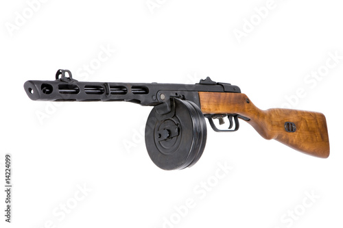 Russian Machine gun PPSh
