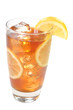 Iced Tea, Lemons, Isolated, Clipping Path