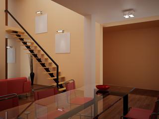 Interior set hundred fifty three