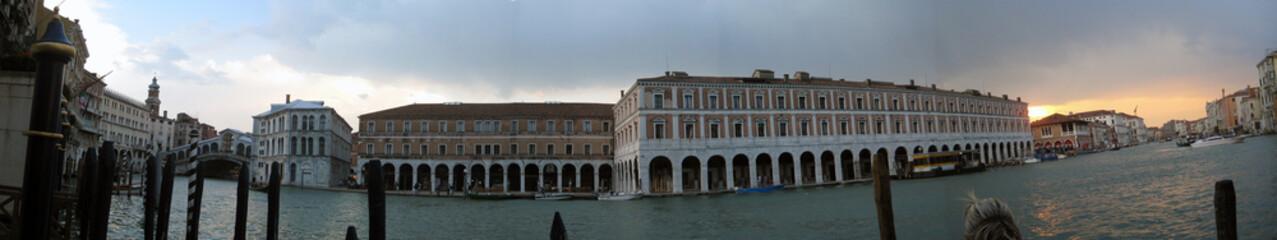 Tramonto veneziano panoramico