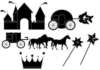 Illustration of toys