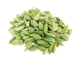 Cardamoms isolated