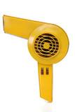 Retro revival hair dryer poster