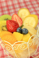 various kinds of fruit