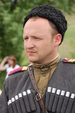 Soldier.WW2 reenacting. Kiev,Ukraine poster