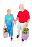 Senior Shoppers - Green Lifestyle poster