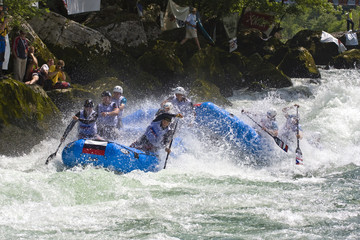 World Rafting Champs Banja Luka 2009 day 2