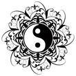 Ying Yang Tatuaggio-Tatoo-Tatouage-Ornamental