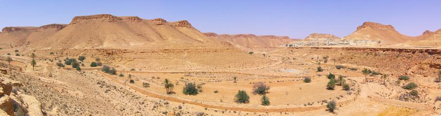 Sahara desert panoramic, Tunisia, XXL size