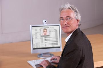 Portrait of University Lecturer