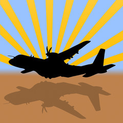 avion de transporte militar c-295