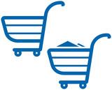 Vector Shopping Carts Illustration