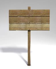 cartello legno