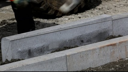 Baustelle - Arbeiter