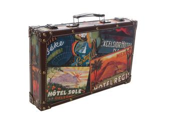 Isolated Travel Suitcase