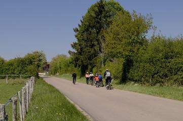 Randonneurs à vélo 100-25